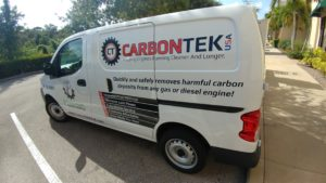 CarbonTek USA Van Decal