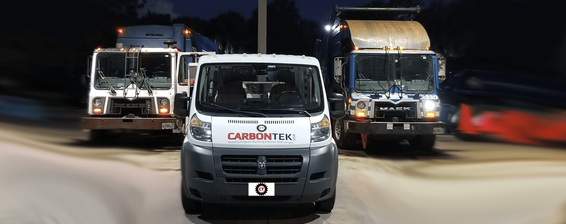 Waste Management Fleet CarbonTek USA