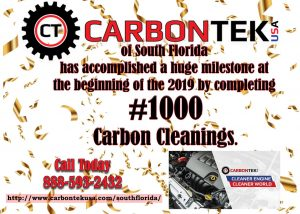 1000 Carbontek USA Cleanings